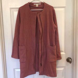 Women's medium (M) size pink Max Studio pea coat.